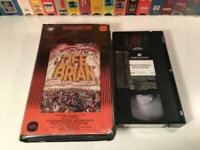 Monty Python's Life Of Brian Comedy Vhs 1979 British Comedy Warner Clamshell