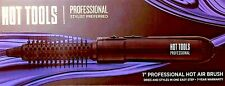 "HOT TOOLS PROFESSIONAL 1"" HOT AIR BRUSH AUTHENTIC WITH 7 YEAR WARRANTY HT1574"