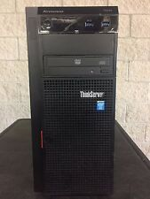 Lenovo ThinkServer TS440 w/ Heatsink, 2x 450W Power Supply & 1x Hard Drive Trays