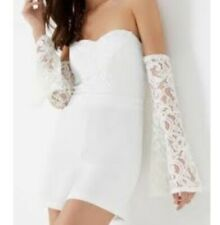 519c17df7a4 Lipsy Playsuit Jumpsuits   Playsuits White for Women for sale