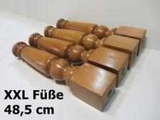 Tischfüße Couchfüße Sofafüße Holzbeine Möbelbeine Möbelfüße Holzfüße H 48,5 cm