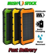 20000mAh Solar Power Bank Charger Battery Travel Camping Powerbank Phone