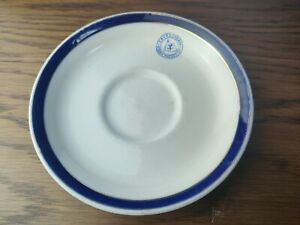 Vintage Caledonian Steam Packet Sailing Maritime Plate Dish - Maritime Interest