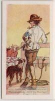 Smithfield Drover Driving Cattle And Sheep To Market 55+ Y/O Trade Ad Card