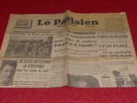"""[PRESSE WW2 APRES GUERRE] """"LE PARISIEN LIBERE"""" #  818 4/5 MAI 1947 Chypre Juifs"""