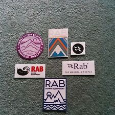 COLLECTABLE RARE 6 RAB STICKERS