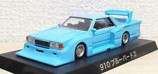 1/64 Aoshima Grachan NISSAN 910 BLUEBIRD BABY BLUE bosozoku diecast car model