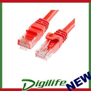 Astrotek CAT6 Cable 2m - Red Color Premium RJ45 Ethernet Network LAN UTP Patch