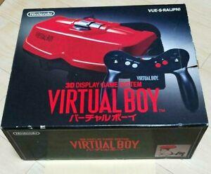 Nintendo Virtual Boy Console System Japanese Version 1995 Video Game