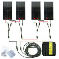600W 24V Complete Kit:4*150W Mono Solar Panel for Boat RV Battery w/ 40A MPPT