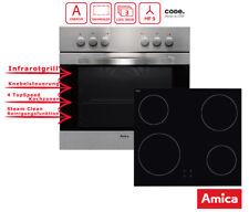 Einbauherd Set Schott Ceran Umluft & Grill Amica EHC 12516E