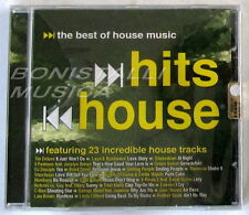 VARIOUS - HITS HOUSE the best of House Music - 23 TRACKS - CD Sigillato