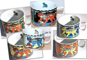 MONEKE - Farbauswahl - Tasse 0,18l - BOPLA Porzellan Serie Wildlife, Cup, Taza,