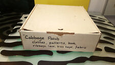 Cabbage Patch Kids Clothing Patterns & Material Good shape Rare