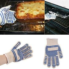Heat Proof Resistant Cooking Kitchen Oven Mitt Glove For 540F Hot Surface RT