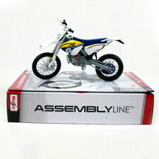 Husqvarna FE 501 1:12 Die-Cast Motocross Self Assembly Toy Model Motorbike Blue