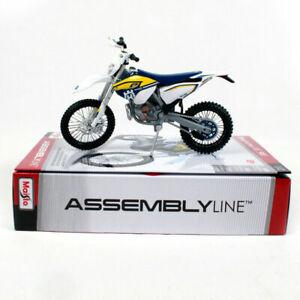 Husqvarna Fe 501 1:12 Modellino Motocross Auto Assemblaggio Modello Giocattolo