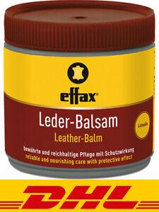 Effax Leder-Balsam 500ml Weltweit Beliebt Lederpflege Ledersalbe Lederfett Fett