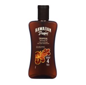 Hawaiian Tropic Professional Tanning Sun Tan Oil Intense SPF 4 Intense 200ml New