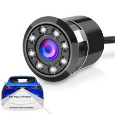 Car Reversing Rear View IR Camera Parking Backup Night Visions 8led Waterproof