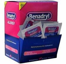 Benadryl Allergy Single Dose 20 packs of 2 tablets per pack