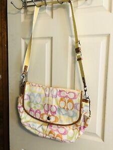 Coach Poppy Line Messenger Bag