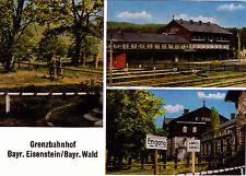 Grenzbahnhof Bayr. pietra FERRO/Bayr. foresta, UNGEL. AK.