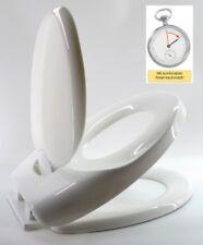 Family WC Sitz Toilettensitz mit Kindersitz und Absenkautomatik - M19