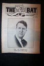 Vintage 1949 Magic Magazine The Bat R.C. Buff