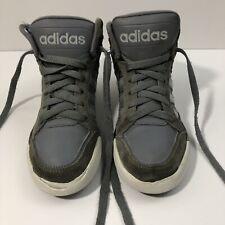 8d615bbb78d Boys Adidas - Grey High Top Basketball Shoes