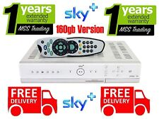 SKY+ PLUS BOX PVR3 160gb Model with REMOTE CONTROL, LEAD & WARRANTY