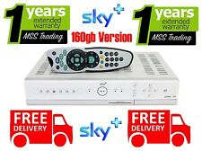 SKY+ PLUS BOX PVR3 160gb Model with REMOTE CONTROL, LEADS & WARRANTY