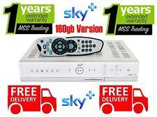 SKY+ PLUS BOX PVR3 160gb Model with REMOTE CONTROL, LEADS & WARRANTY