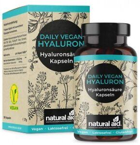 Quotidien Végétalien Hyaluronique - Acide Hyaluron.,90 Gélules (3 Monats-Vorrat)