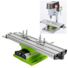 Cross Slide Vise Drill Press Heavy Duty Metal Milling 2 Way X-Y Clamp Machine