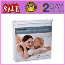 Mattress Cover Protector Waterproof Twin Size Matress Pad Protect Bed Soft New