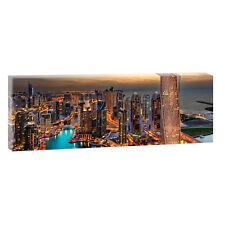 Dubai Bilder Poster Leinwand Modern Design Panorama Wandbild XXL150 cm*50 cm 609