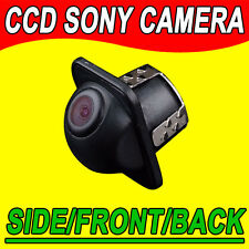 CCD Car Vehicle Rear View Side Front Camera Back Up Spy Mini Cam color + drill