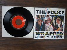 THE POLICE WRAPPED AROUND YOUR FINGER & TEA IN THE SAHARA 45 RECORD 8C5