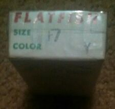 Flatfish Lure - Box Only Helin Tackle Co. Detroit 7, MICH. - Size F7 Color Y