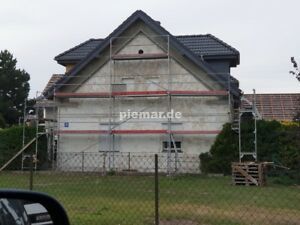 Giebelgerüst 86 qm Gerüst Typ Layher +Durchstieg 3,07 m Fassadengerüst Baugerüst