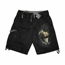 BONE SLASHER SHORTS  - Vintage Cargo Shorts Black