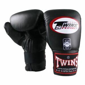 Twins Sandsackhandschuhe aus bestem Leder, TBM-1. Kickboxen, Muay Thai, Boxen