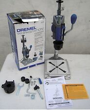 Dremel Rotary Tool Workstation ~ Drill Press ~ 220-01~ Multi-Use Tool Holder +