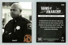 Sheriff #C14 Sons Of Anarchy Season 4 & 5 Cryptozoic 2015 Character Bios Card