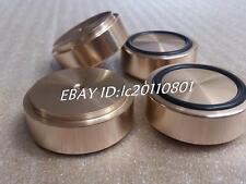 4pcs (gold) Aluminum feet/foot pads for amplifer/dac D:44mm H:17mm (a set)