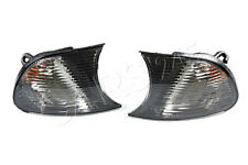 BMW 3 Series E46  Coupe Cabrio LCI 2001-2003 Pair Corner Light Turn Signal Black
