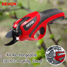 4V Rechargeable Electric Pruning Shear Gardening Orchard Branches Cutting Tool