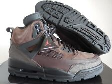 NIKE AIR JORDAN WINTERIZED SPIZIKE BOOTS DARK CINDER BROWN SZ 9.5 [375356-201]