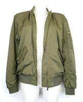 M2) DIVIDED by H&M Damen Oversized Jacke Gr. 34 XS Bomberjacke Pilotenjacke